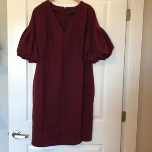 NWOT Eloquii puffy sleeve dress size 14